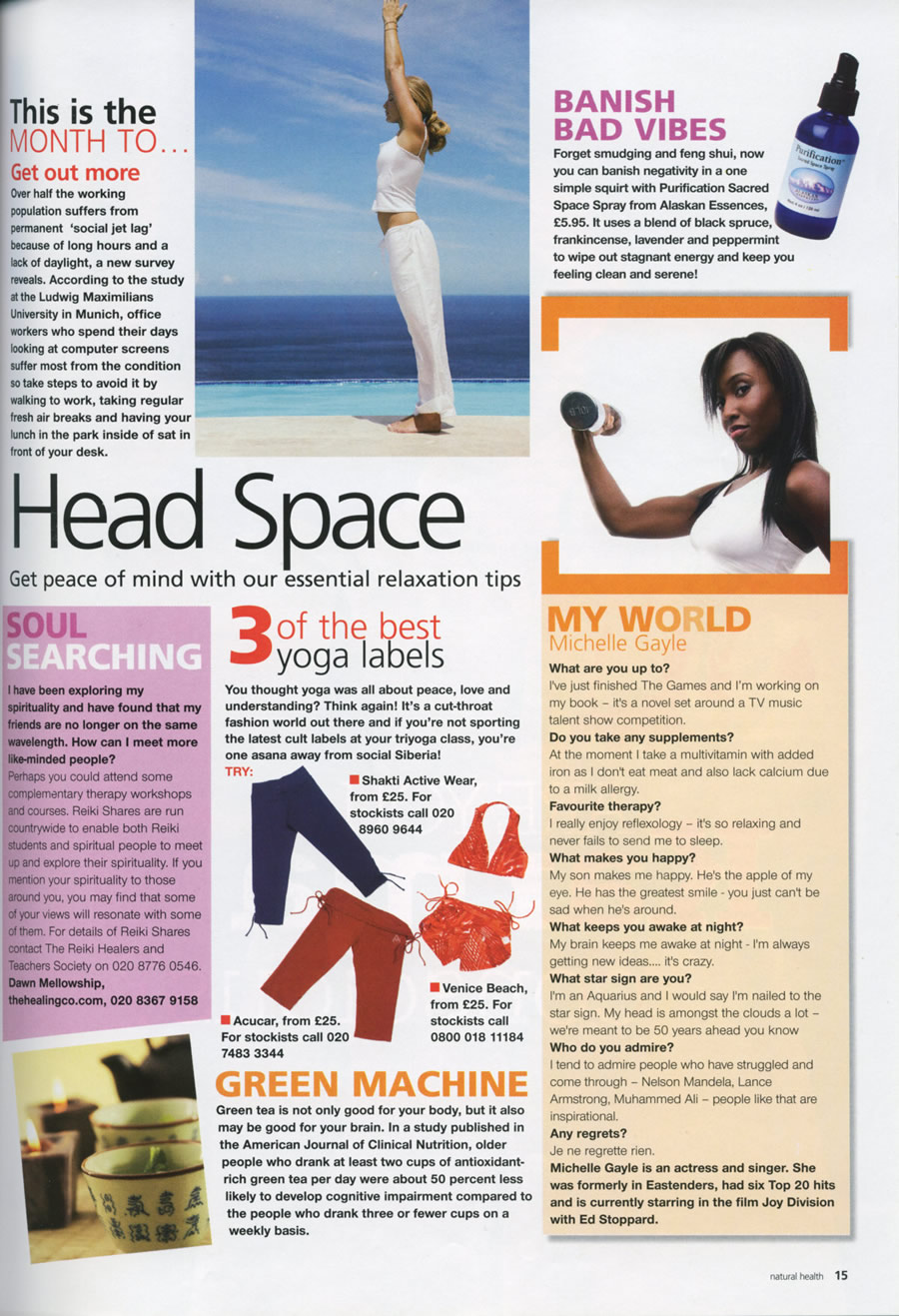Check out press about our Reiki courses and treatments Press